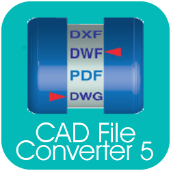 CAD File Converter - DWG-DXF-PDF convert, view and print